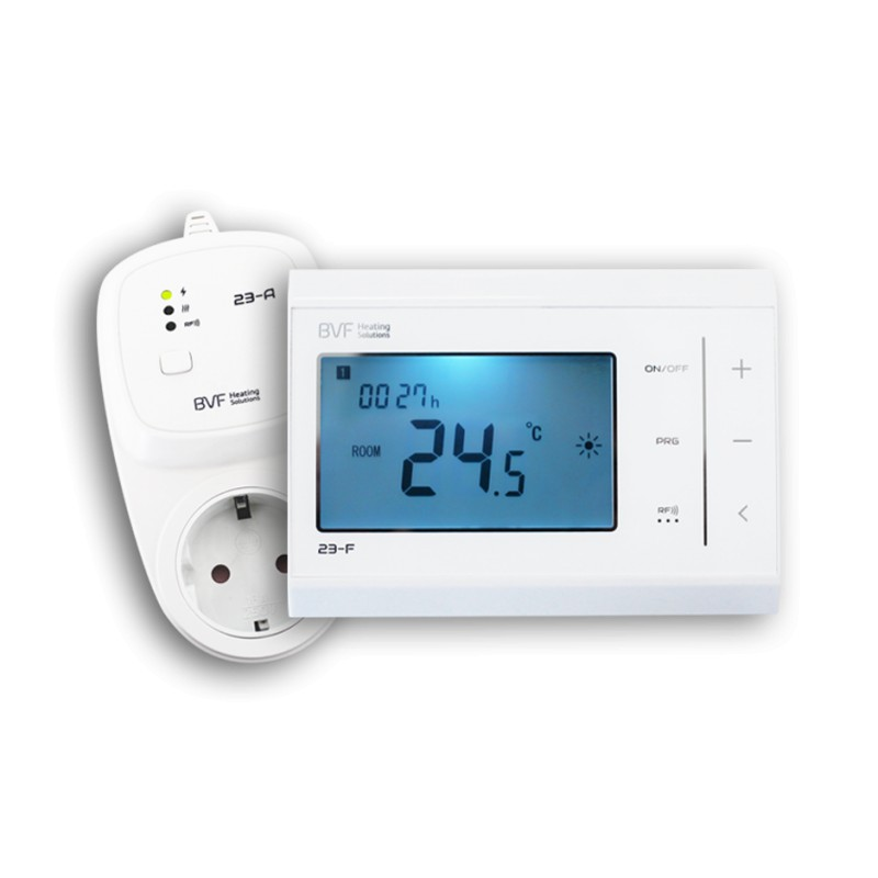 funk thermostat set bvf 23 fa mit gro em display. Black Bedroom Furniture Sets. Home Design Ideas