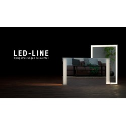 Infranomic LED Line rahmenlos