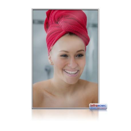 Infranomic Glas Spiegel 10mm Alu